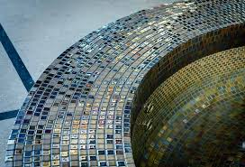 spoilt for choice on tiling mosaic pool and spa