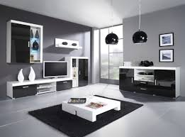 Cheap Living Room Furniture Sets With Black Lamp And Black Carpet And Floor And