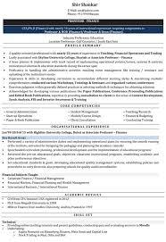 Download Lecturer Resume Samples