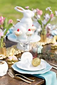 Rustic Chic Easter Table Decorations