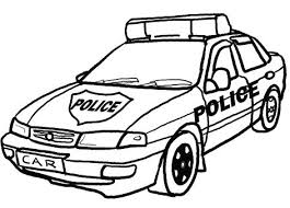 Popular Police Car Coloring Pages To Print