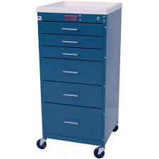6 Drawer Dresser Tall by Harloff 3156k Mini Line 6 Drawer Standard Anesthesia Cart With Key