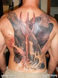 Full Back Seal Tattoos
