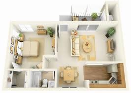 e Bedroom Open Floor Plans Luxury 1 Bedroom Apartment House