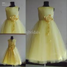 96 best Yellow Flower Girl Dresses images on Pinterest