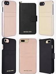 Michael Kors Leather Folio Wallet Pocket ID Phone Case iPhone 8