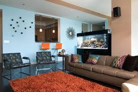 burnt orange and blue decor – liwenyun