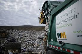 100 Waste Management Garbage Truck Technological Flash Could Help Pick Up Trash HoustonChroniclecom