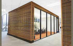 lobby armstrong wood slat wall panels or ceiling osu interiors