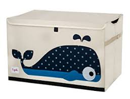 amazon com 3 sprouts toy chest whale baby