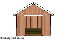 12x12 Shed Plans With Loft by 12x12 Shed Plans Howtospecialist How To Build Step By Step