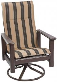 Fosner High Back Chair by High Back Swivel Rocker Patio Chairs Outdoor Furniture Picture 77
