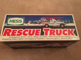 Vintage Rare 1994 HESS TOY TRUCK - RESCUE TRUCK - NEW IN BOX W/ OLD ... Hess Truck 1994 Nib Non Smoking Vironment Lights Horn Siren 2017 Dump With Loader Trucks By The Year Guide Toys Values And Descriptions 911 Emergency Collection Jackies Toy Store Toys Hobbies Cars Vans Find Products Online At 1991 Commercial Youtube 2006 Chrome Special Edition Nyse Mini Vintage Rare Hess Toy Truck Rescue New In Box W Old 2004 Miniature Pinterest 1990 Tanker