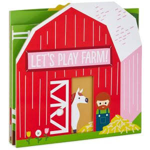 Hallmark Let's Play Farm Book
