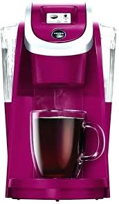 Purple Coffee Maker K Cup Green Mountain Plus Series Brewer Imperial Red