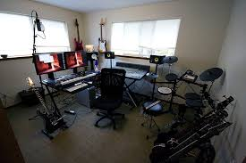 Image Of Home Music Studio Setup