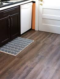 Inexpensive Rustic Wood Kitchen Floors Hardwood With Peel And Stick Vinyl Flooring