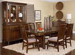 Great Casual Transitional Look In A Dark Artisan Brown Oak Finish Styling Elements Of American Mission And Rustic Combine To Create An U