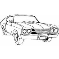 Classic Sport Car Coloring Page