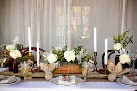 Outdoor Rustic Country Wedding Table Decor