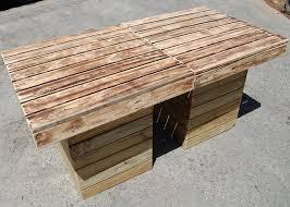 Pallet Patio Table Plans diy outdoor pallet patio table pallet furniture