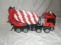 100 Lego Cement Truck LEGO MOC1171 MAN TGS 8x4 Model Team 2014