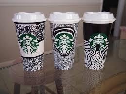 Starbucks Cup Drawing