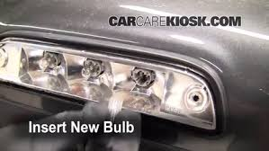 third brake light bulb change toyota tacoma 2005 2015 2009