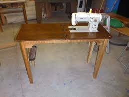 Sewing Cabinet Plans Build by Diy Making A New Base For The Pfaff 260 Sewing Machine Youtube