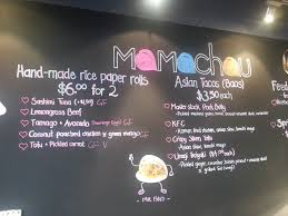 Mamachau Asian Kitchen give me some bao nao
