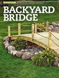 2108 Backyard Bridge Plans - Outdoor Plans   Garden Koi Pond ... Backyards Fascating 25 Best Ideas About Backyard Projects On Stunning Inspiring Outdoor Fire Pit Areas Gardens Projects Ideas On Pinterest Patio Fniture Decorations Handmade Garden Bystep Itructions For Creative Pin By Cathy Kantowski The Diy And Top Rustic Pits House And 67 Best Long Short Term Frontbackyard Images Diy Home