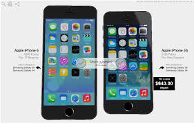 iphone 5s vs iphone 6 size