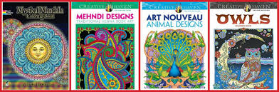Amazon Adult Coloring Books As Low 329 Hip2Save