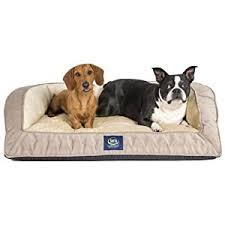 amazon com serta orthopedic quilted couch large mocha pet
