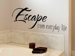 Decals For Bathrooms by Floral Wall Decals For Bathroom Bathroom Wall Decals As Fuss