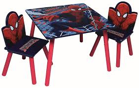 Children Wooden Table & Chairs Sets - Indoor Childrens Toddlers Playroom  Furniture … (Spiderman) Delta Children Ninja Turtles Table Chair Set With Storage Suphero Bedroom Ideas For Boys Preg Painted Wooden Laptop Chairs Coffee Mug Birthday Parties Buy Latest Kids Tables Sets At Best Price Online In Dc Super Friends And Study 4 Years Old 19x 26 Wood Steel America Sweetheart Dressing Stool Pink Hearts Jungle Gyms Treehouses Sandboxes The Workshop Pj Masks Desk Bin Home Sanctuary Day