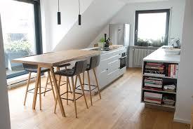 küche unter dachschräge