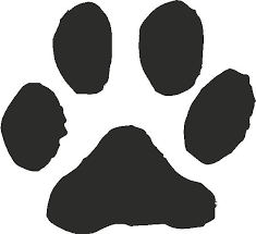 cat paw prints cat paw print vector by opdeebee on deviantart