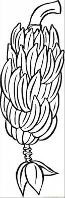 Banana 5 Coloring Page