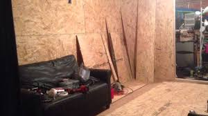 Cheap Shed Floor Ideas by Turn Your Storage Shed Into A Man Cave Cheap Youtube