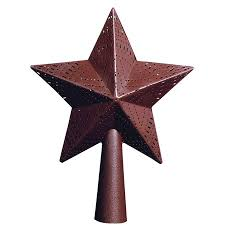 Vintage Star Christmas Tree Topper