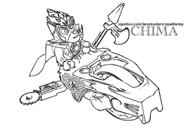Lego Chima Coloring Pages Lennox On Speedorz