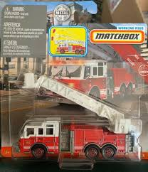 100 Fire Truck Red Details About Matchbox Working Rigs Pierce Velocity Aerial