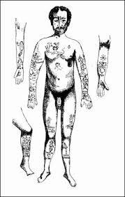 Italian Criminal Tattoos Late 19th Century