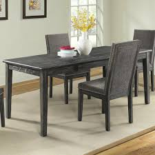 Mayberry Hill South Paw 7-Piece Dining Set In Dark Grey ... Dorel Living Andover Faux Marble Counter Height 5 Pc Ding Set Denmark Side Chair Designmaster Fniture Ava Sectional Cashew Hyde Park Valencia Rectangular Extending Table Of 4 Button Back Chairs Room Big Sandy Superstore Oh Ky Wv Hampton Bay Oak Heights Motion Metal Outdoor Patio With Cushions 2pack Sofa Usb Charging Ports Intercon Nantucket Transitional 7 Piece A La Carte And Liberty