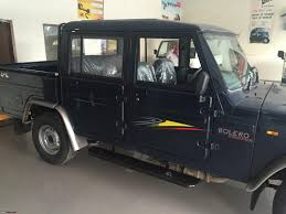 Mahindra Bolero Maxitruck Plus 4x4 Spied - Team-BHP
