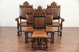 Spanish Colonial Carved Vintage Set Of 6 Leather Dining Chairs, Marco #29583 Century Fniture Infinite Possibilities Unlimited Home Decor Custom Design Free Help Cobblestone Hotel Suites Appleton Intertional Airport Georgian Chippendale Vintage Desk Or Ding Chair New Upholstery 30517 The Chardonnay Formal Room Collection In Antique Set Of 6 Style Mahogany Chairs 31462 Buying And Selling Online Ultimate Guide Seating Yellow Ding Chairs Terracotta Floor Tiles Stock Photos Wedding Registry Crate Barrel Sprague Carleton House Kings Arrow 50 Similar Items Amish Handcrafted More Dons