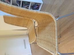 ikea linus stuhl stühle rattan edelstahl