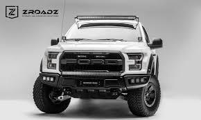 100 Truck Light Rack ZROADZ Raptor OEM Grille LED Mounting Kit Combo With 2 6 LED