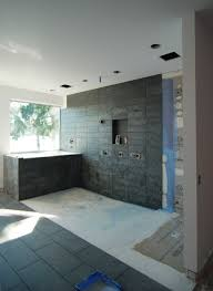 Tiling A Bathroom Floor On Plywood by Mastering The Curbless Shower Custom Home Magazine Design